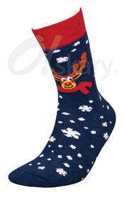 Men's terry socks, model RENIFER