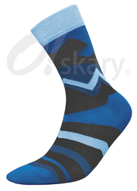 Men's socks, model ZYGZAG
