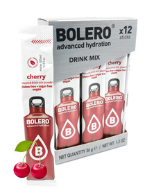 BOLERO cherry flavored sugar-free drink 12 pcs