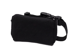 Belt with case for diabetic pump - classic black