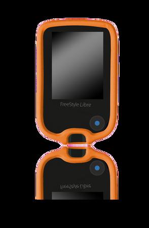 Freestyle Libre cover - orange (1)