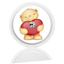 Libre Sensor Sticker - Bear