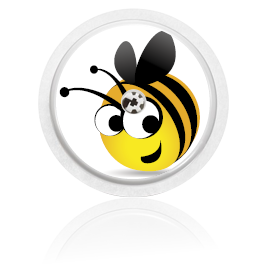 Libre Sensor Sticker - Bee