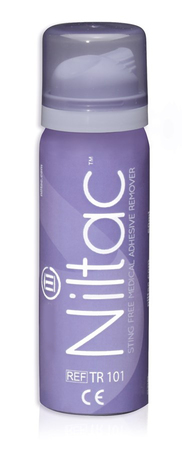 Niltac - spray to easily take off sensor without pain (1)
