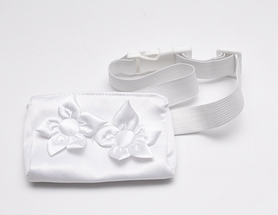 Belt with case for insulin pump - Satin luxury 1