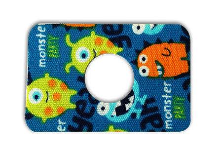 Freestyle Libre tape MONSTER hole - 7x5 cm (1)