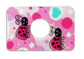 Freestyle Libre tapes LADYBIRD hole - 7x5 cm