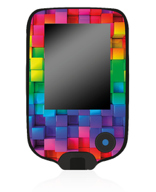 Freestyle Libre sticker - colour bricks