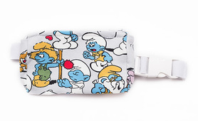 Belt with case for diabetic pump - Smurfs