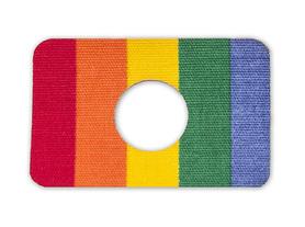 Premium kinesio tapes with hole - rainbow