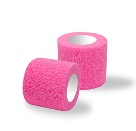 Adhesive bandages 1 roll pink / width 5 cm