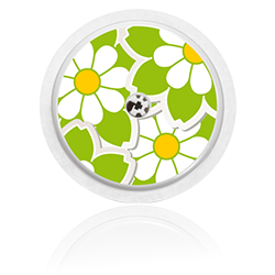 Libre Sensor Sticker - Flowers 8