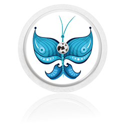 Libre Sensor Sticker - Butterfly 2