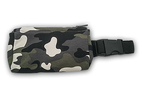 Belt with case for diabetic pump - Camo 2