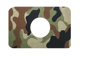 Freestyle Libre tape with hole - camo 2