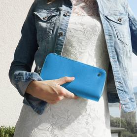 Exclusive handbag for woman LIGHT BLUE