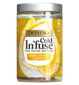 Natural Fruit Cold Tea - lemon, orange, ginger