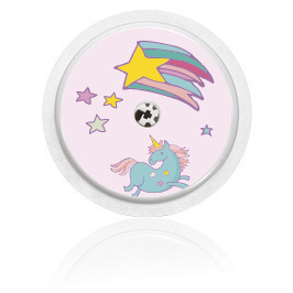 Libre sensor sticker - Unicorn Theme