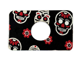 FL tapes with hole - skulls