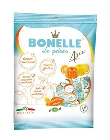 Bonelle jelly with lemon and mandarin flavor