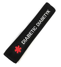 Car belt overlay DIABETIC - hand made, PREMIUM quality