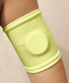 Arm band - illuminated yellow