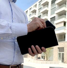 Exclusive handbag for man BLACK