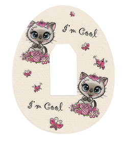Dexcom G4, G5, G6 tapes patches Kitty