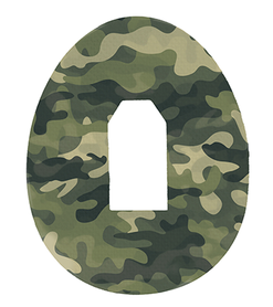 Dexcom G4, G5, G6 tapes patches Camo