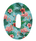 Dexcom G5 tapes patches Flamingo (2)