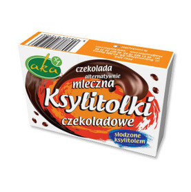 Xylitol chocolate dragees no added sugar