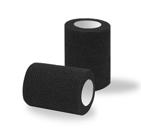 Adhesive bandages 1 roll black classic / width 7,5 cm