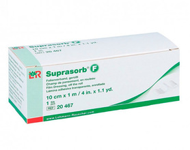 Suprasorb F protection for sensors and libre readers - roll 10cm x 1m