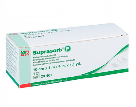 Suprasorb F protection for sensors and libre readers - roll 10cm x 1m (1)