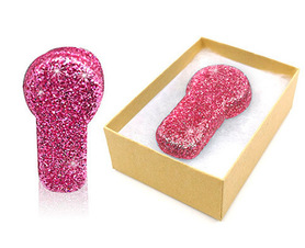 MiaoMiao 2 pink glitter reusable cover