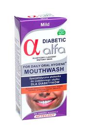 Alfa Diabetic Specialist Antibacterial ORAL RINSE for diabetics MILD mint