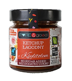 Mild ketchup with xylitol PURE & good