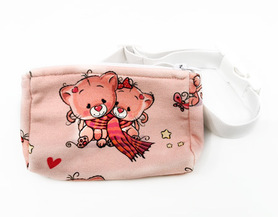Belt with case for diabetic pump Cute Bears