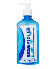 BIOSEPTOL 80 liquid for hand disinfection 0.5l with pump