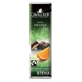 Premium Cavalier bar belgian milk chocolate with orange filling