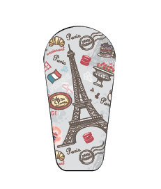 Dexcom G6 sticker Paris