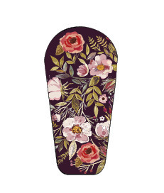 Dexcom G6 sticker Flowers 2