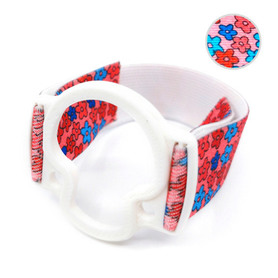 ENLITE Minilink/Guardian armband to protect sensor with transmiter white flowers 3