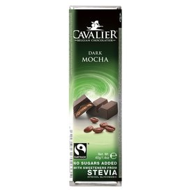 Premium Cavalier bar belgian milk chocolate with coffe filling