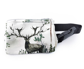 Belt with case for diabetic pump Deer