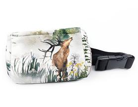 Belt with case for diabetic pump Deer 2