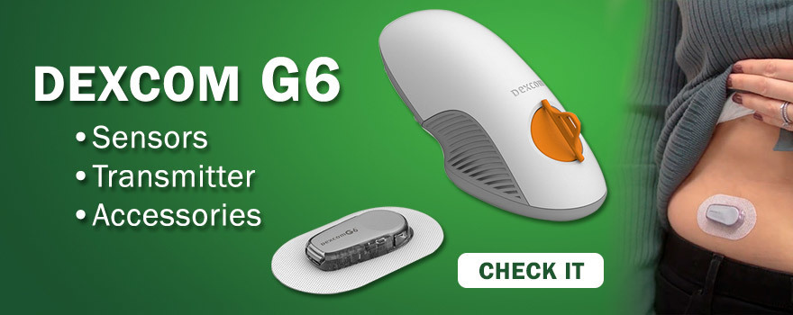 Dexcomg G6 CGM monitoring for diabetes